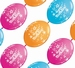 12 inch Happy Birthday Quick Link Party Banner 10ct