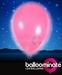 Balloominate Pink colour balloon / pink colour  LED