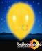 Balloominate Yellow colour balloon / yellow colour  LED