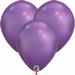 Q7 Inch Chrome Purple Latex Balloons 100pk